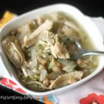 Chicken Posole Slow Cooker Soup - Stew recipe