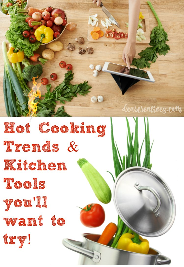 In The Kitchen: Cooking Trends & Tools You Want To Try!