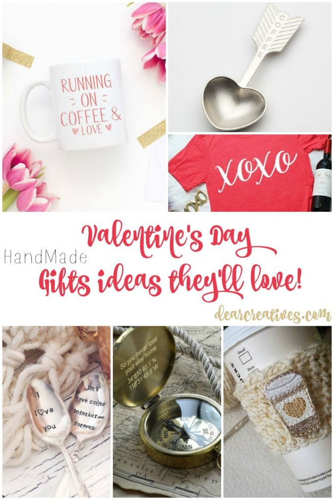 Valentine's Day Gift Ideas For him or her and coffee lovers. So many gift ideas to pick from.