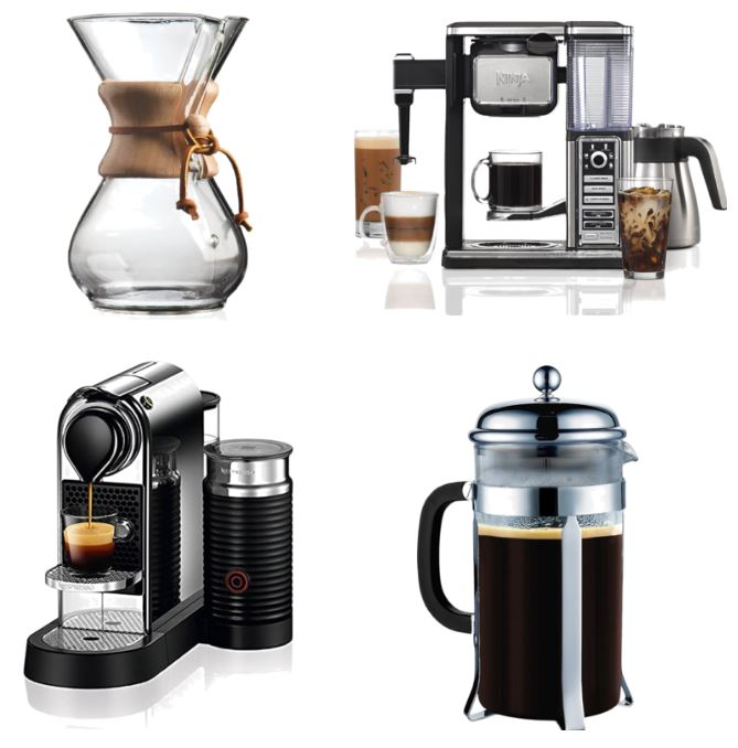 Gift Guide Coffee Lovers Coffee Makers
