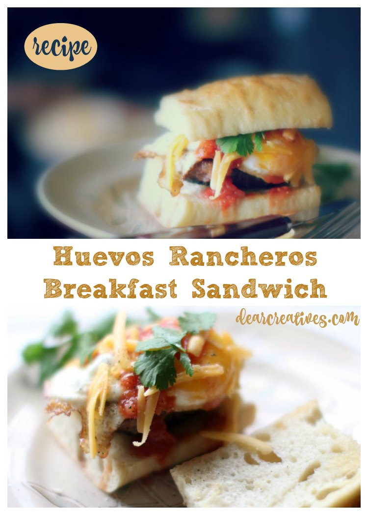 Huevos Rancheros Egg Sandwich Recipe And How To Enter 2017 Eggland's Best Foodtography Contest