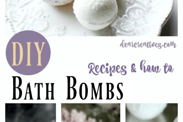 DIY Beauty Recipes How to make bath bombs. Step by step how to including recipe for lavender bath bombs and other homemade beauty recipes.