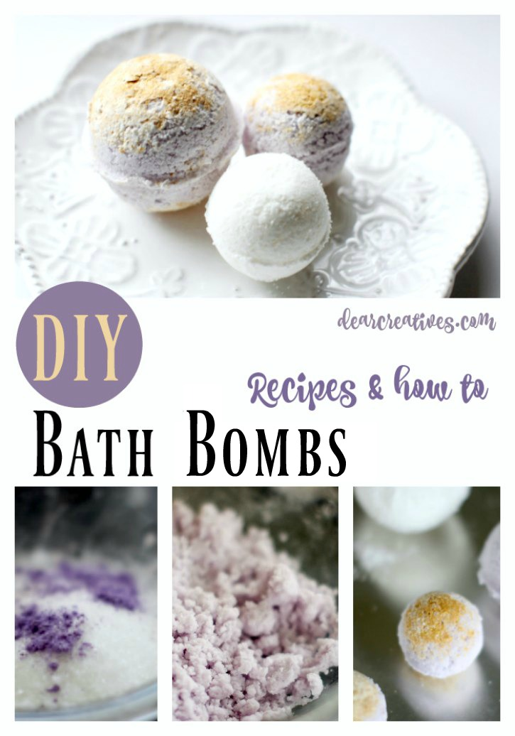 How To Make Bath Bombs – Lavender Bath Bombs Recipe