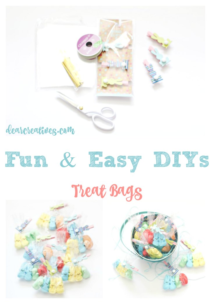 Fun and Easy DIYs Peeps Easter Treats Bags Under 30 Minute Craft
