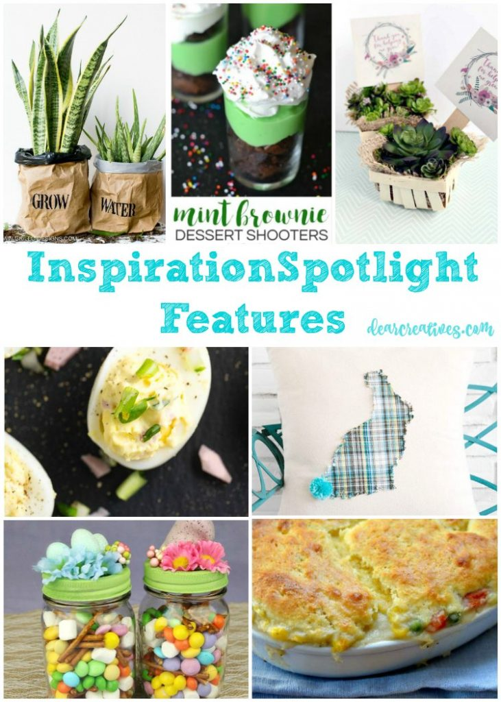 linkup party inspiration spotlight party 235 crafts,DIY, beauty & fashion, home decor, recipes and more! join us weekly at dearcreatives.com