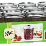 Ball Quilted Jelly Jars 4 and 8 ounce canning jars