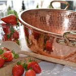 copper jam pot. these are the best kind of pots to use for cooking fresh fruits to make jams and jelly