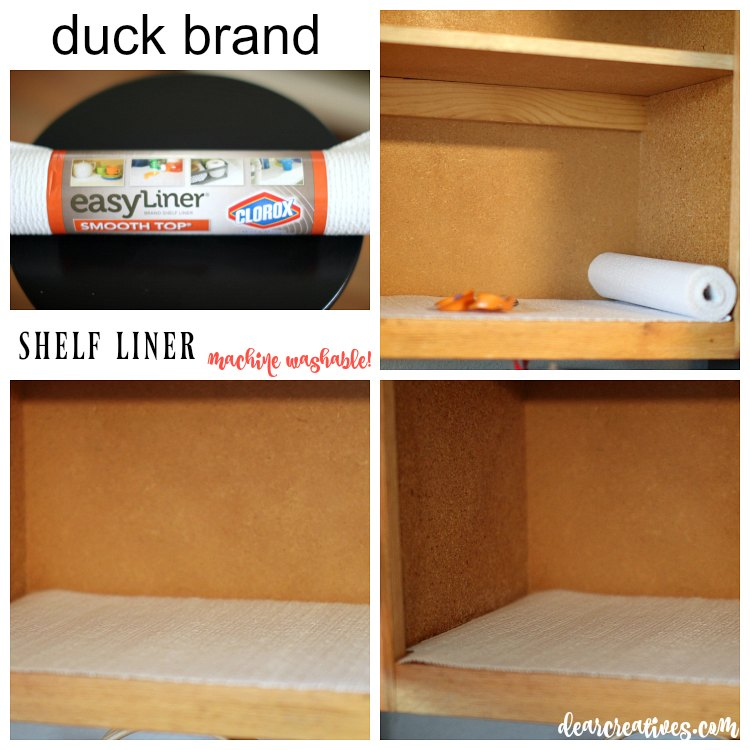 spring cleaning how to line a shelf with liner paper and other spring cleaning tips.