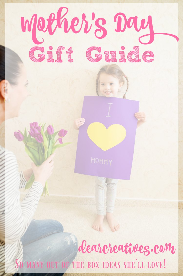 Gift Guide Mother's Day gift guide with so many ideas even for last minute Mother's Day gifts. Bonus other gift guides for women included! All in one spot.