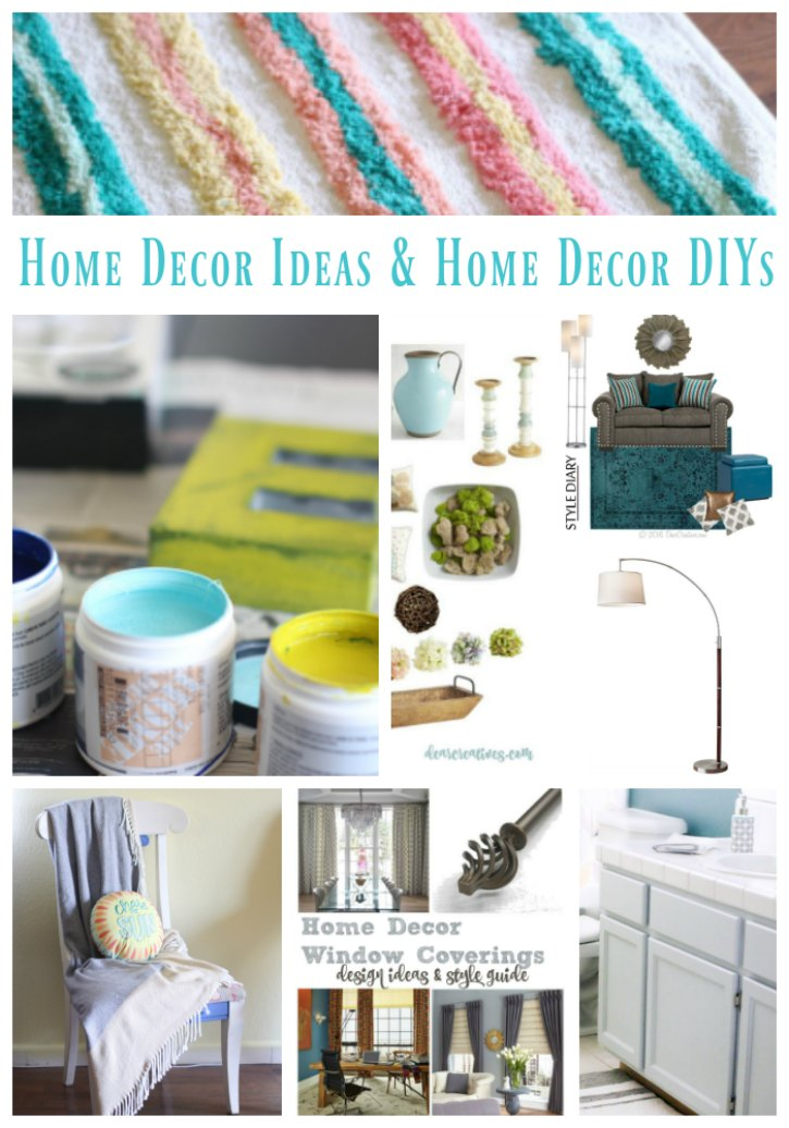 Home Decor Ideas and Home Decor Ideas DIY so many ideas to help you with decorating your home.