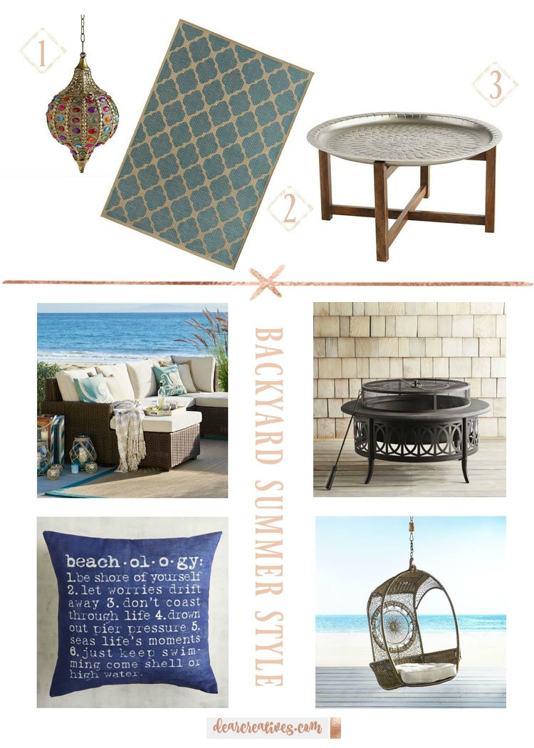 Home decor outdoor summer styles. With a few additions to your backyard you can enjoy the sun and fun in style while entertaining.