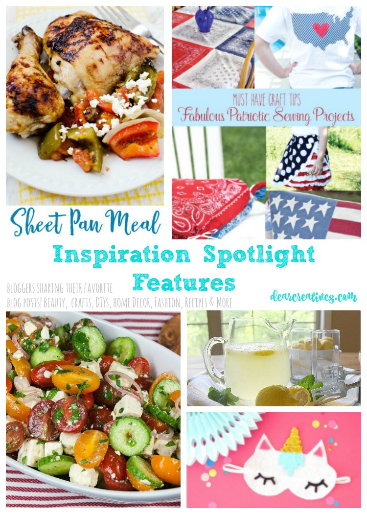 Inspiration Spotlight Linkup Party 247 Crafts, DIY, Home Decor, Recipes, Lifestyle