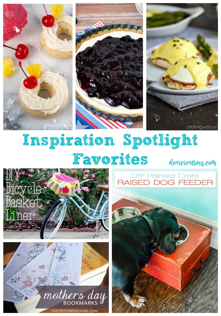 Inspiration Spotlight Linkup Party 245 Crafts, DIY, home decor, recipes, beauty and fashion. Bloggers sharing their favorite blog posts.