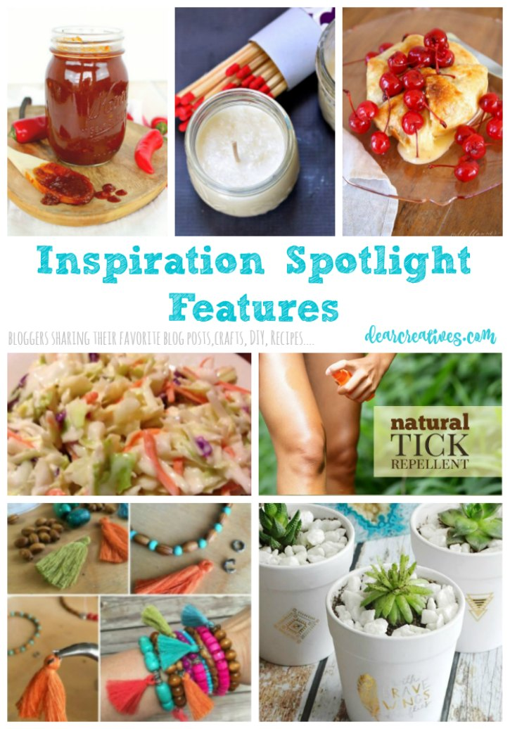 Linkup Party Inspiration Spotlight Linkup 246 Crafts, DIY, home decor, recipes, beauty and fashion. Bloggers sharing their favorite blog posts.