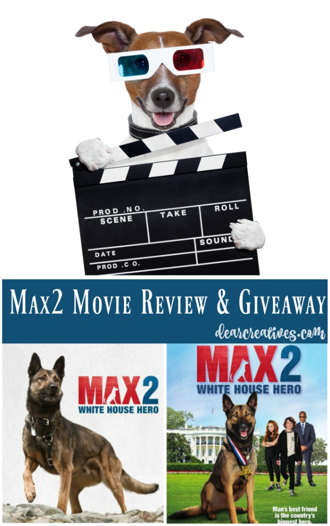 Summer DVD Movie Release MAX2 White House Hero Warner Bros. Home Entertainment + Giveaway!