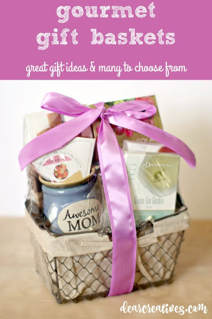 Gift Guide | gift ideas gourmetgiftbaskets review DearCreatives.com
