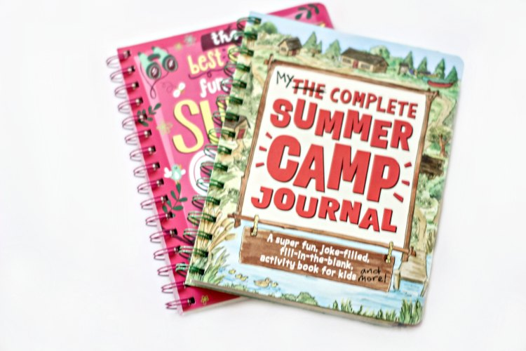 Fun stuff for kids Summer Camp Kids Journals Ideas for at home summer camp and free printables for summer reading book lists DearCreatives.com