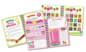 Fun stuff for the kids summer camp journal -inside the summer camp journal