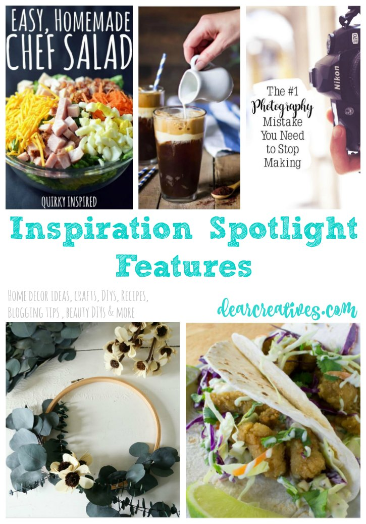 Linkup Party | Inspiration Spotlight Linkup Party 248 Bloggers sharing their favorite blog posts; blogging tips, crafts, DIY, home decor ideas, recipes, fashion, beauty and more!