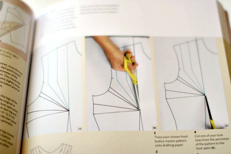 Sewing Book Review- Designing Clothes with the Flat Pattern Method - DearCreatives.com Take a peek inside this sewing book that is all about altering and the pattern sewing