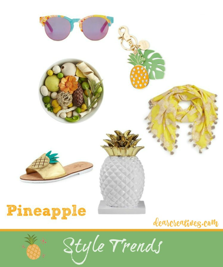 Style Trends Tropical, Pineapple For You And Your Home