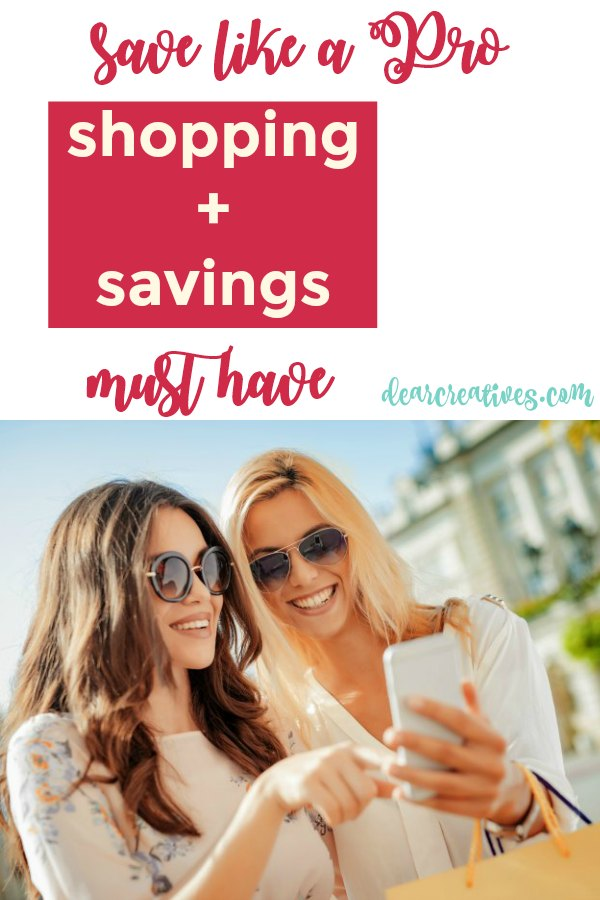 Shopping Plus Saving! Must Have For Online And In-store Deals, Discounts