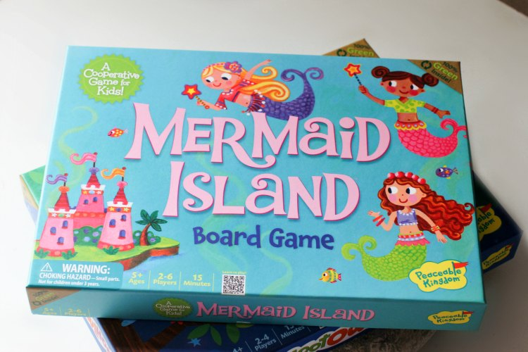fun stuff for the kids kids learning games - DearCreatives.com Mermaid Island board game ages 5+ a cooperative learning game