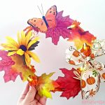 How to create a 10 inch wreath with supplies from the Dollar Store. Plus, must try wreath crafts tutorials at DearCreatives.com