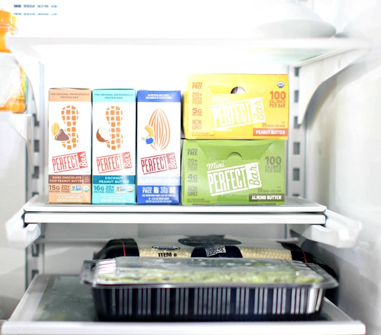 healthy snack ideas - DearCreatives.com keep Perfect Bars in the fridge or in pantry for up to 1 week. Perfect Bar Review