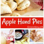 Apple hand pies are a delicious treat recipe. You can enjoy them anytime with this step by step baking recipe you will love making. See how easy at DearCreatives.com