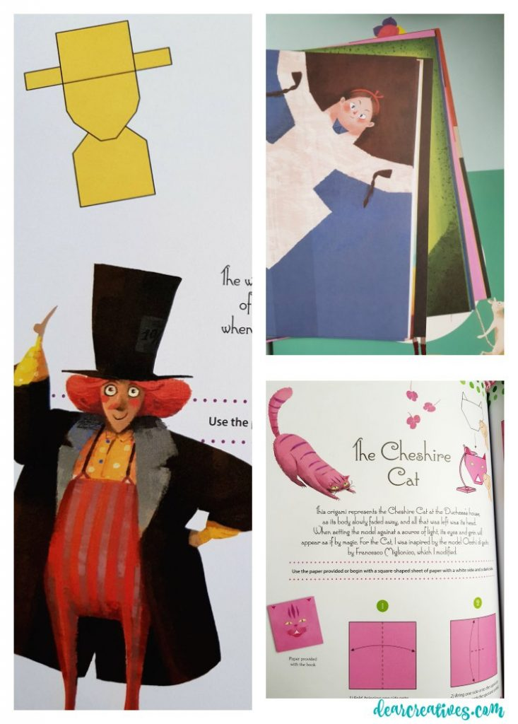 Craft Books for teens a gift guide Origami Alice in Wonderland craft book See more ideas at DearCreatives.com