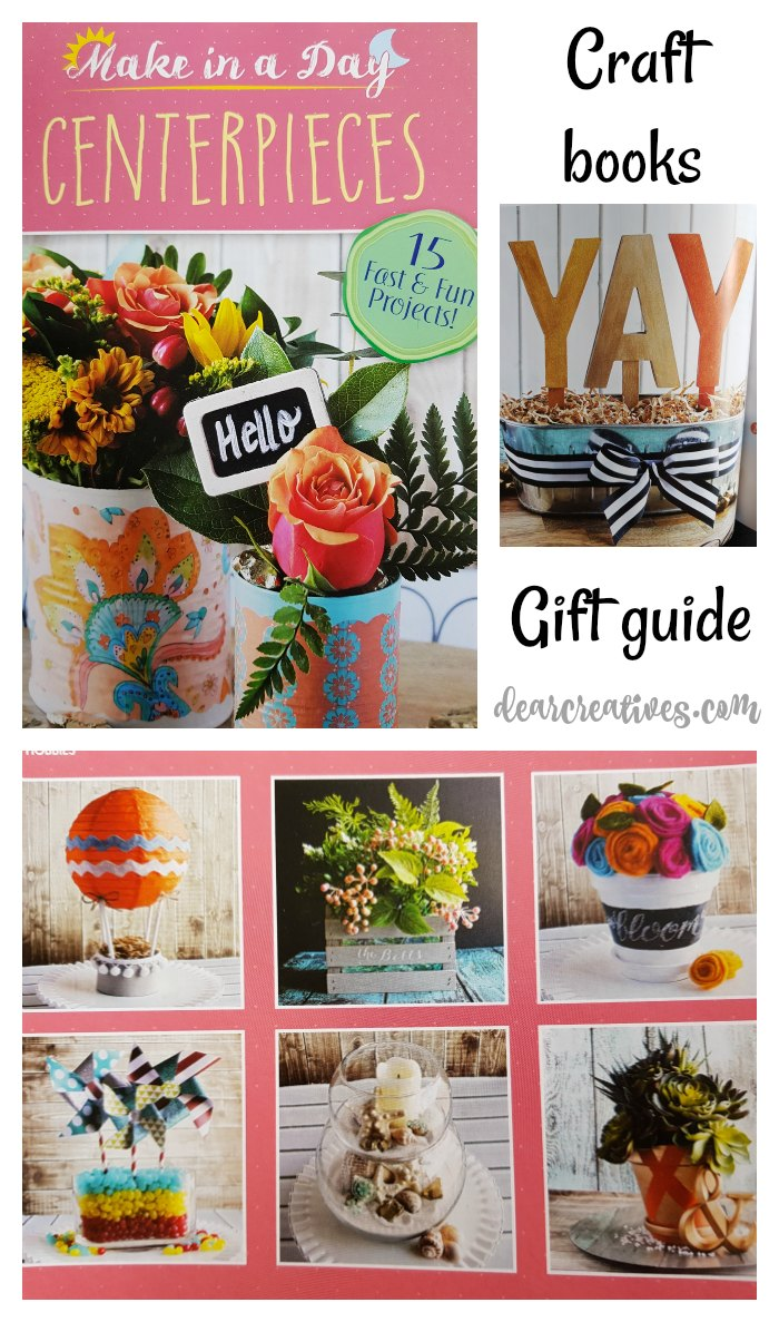 Crafts books gift guide for the crafty people in your life. So many ideas to choose from see them all and why they'll love them. DearCreatives.com