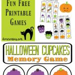 Free Printables for Halloween Fun stuff for the kids free Halloween memory game printables jpg and pdf at DearCreatives.com