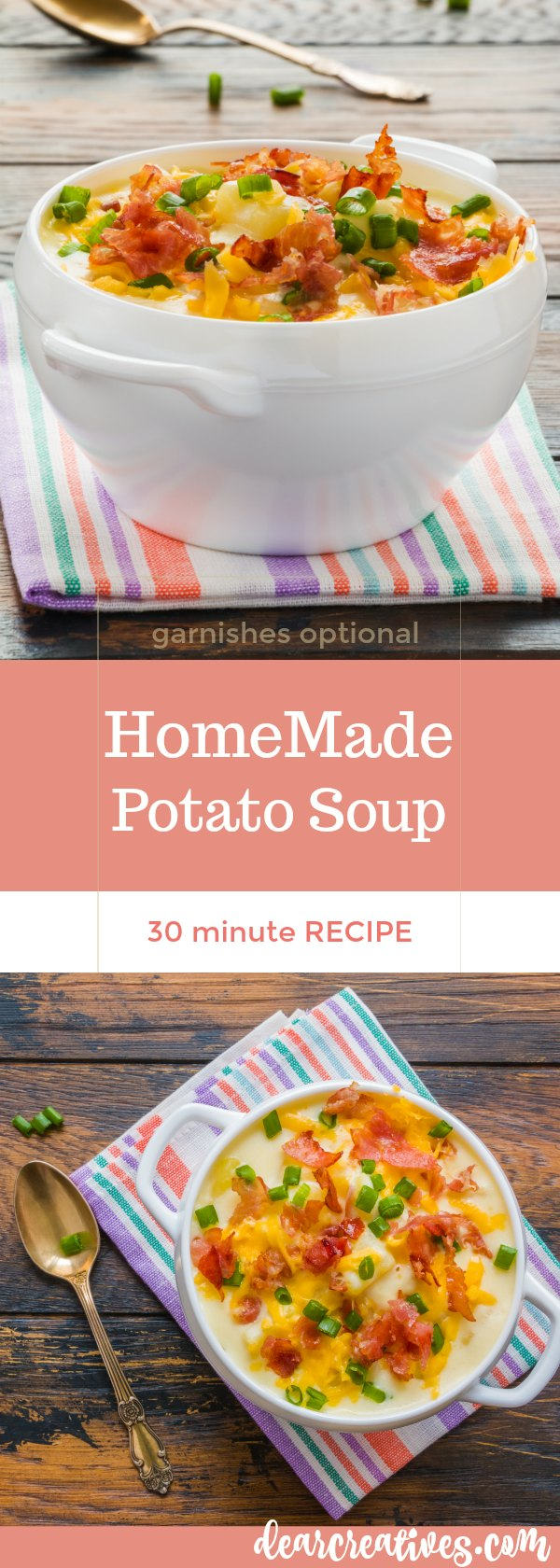 Homemade Potato Soup Recipe A Must Try 30 Minute Meal!
