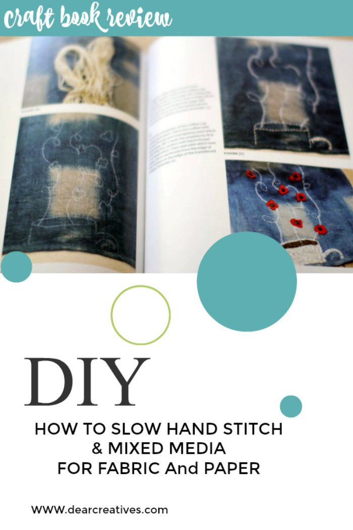 Learn Traditional Stitches In Non Traditional Ways! Hand Sewing On Fabric and Paper!