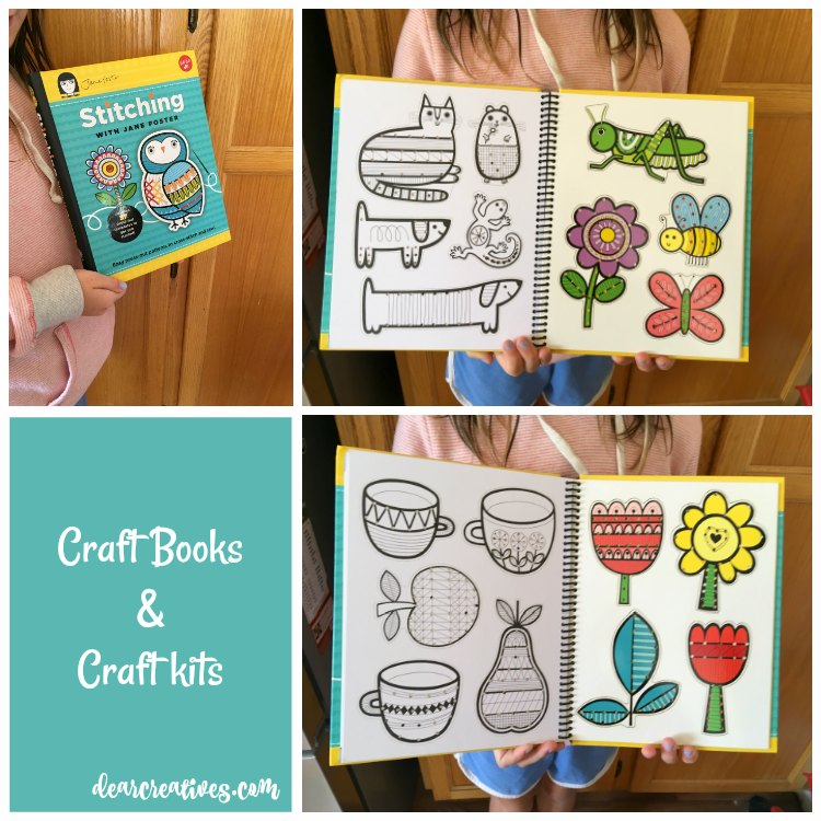 Looking for kids craft books, activities, and craft kits Check out these craft ideas from DearCreatives.com