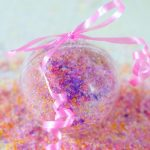 Princess Girly Christmas Bath Salts Beauty DIY DearCreatives.com