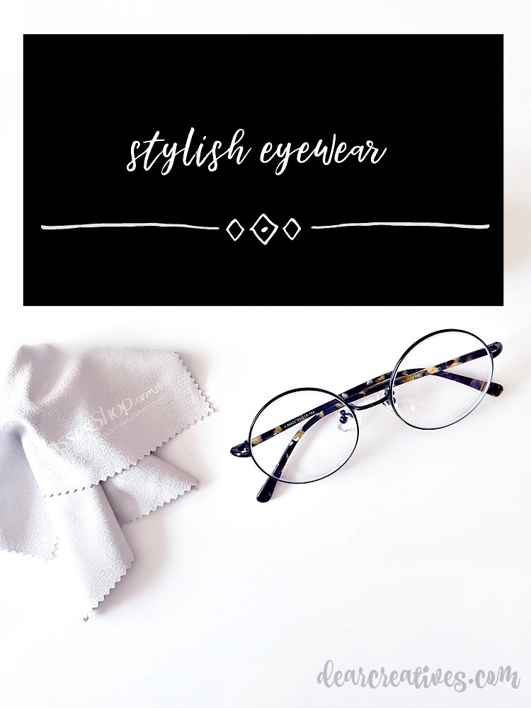 Stylish Eyewear the latest eyeglass styles that are chic, affordable, and shop for them online. See more at DearCreatives.com #eyeglasses #eyewear #stylisheyeglasses #eyeglasstrends