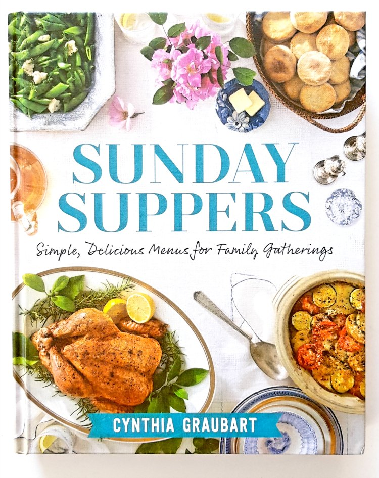 Sunday Suppers cook book by Cynthia Graubart