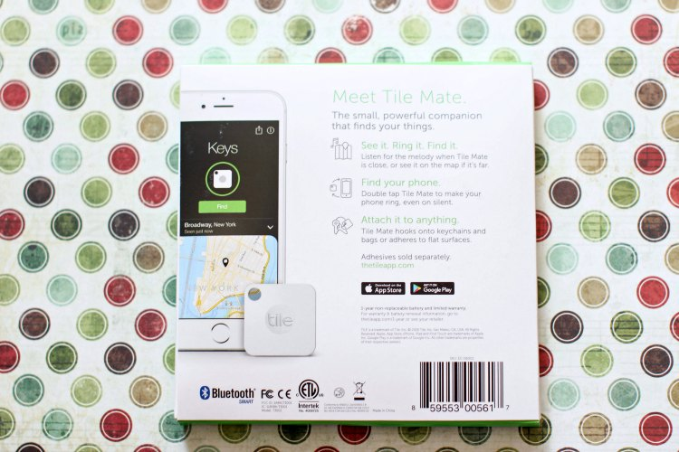 bluetooth electronic device lose it find it with Tileit DearCreatives.com