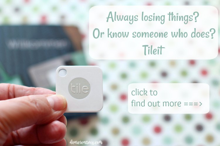 bluetooth tracker click to find out more (ad) lose it find it with Tileit DearCreatives.com-