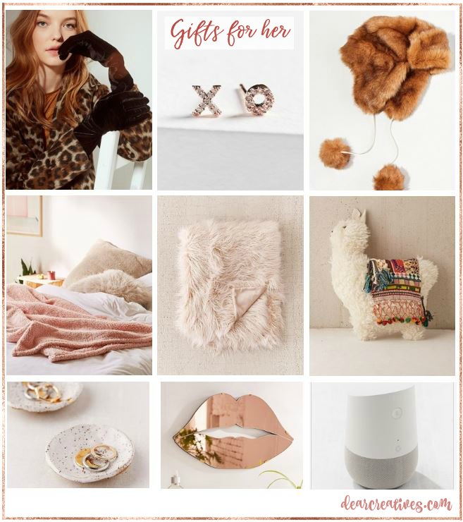 Christmas Gift ideas for her. Find these gift ideas and more with all the gift guides for every occasion at DearCreatives.com