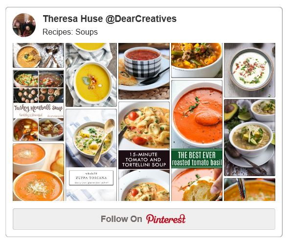 Soup recipes on Pinterest