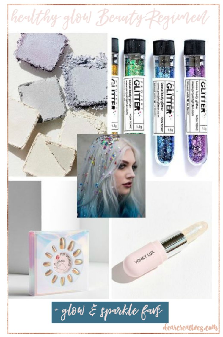 beauty tips. healthy glow beauty regimen, and easy to follow routines. Plus top glow, and sparkle party favorites. #beauty #makeup #beautytips #skincare DearCreatives.com