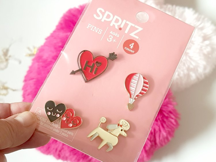 Valentine's Day pins
