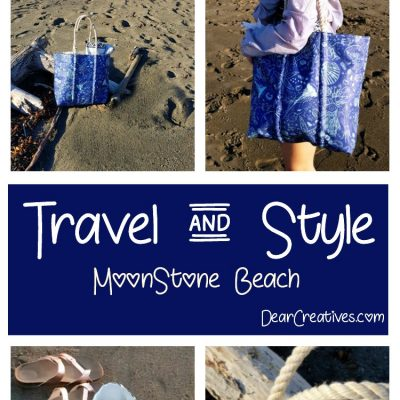 Are you ready to pack your bag, and dust off winter by planning your spring break vacation Moonstone Beach, Cambria Calfornia.#seabagsighting #travel #style #beachlife #Calfornia #sponsored DearCreatives.com