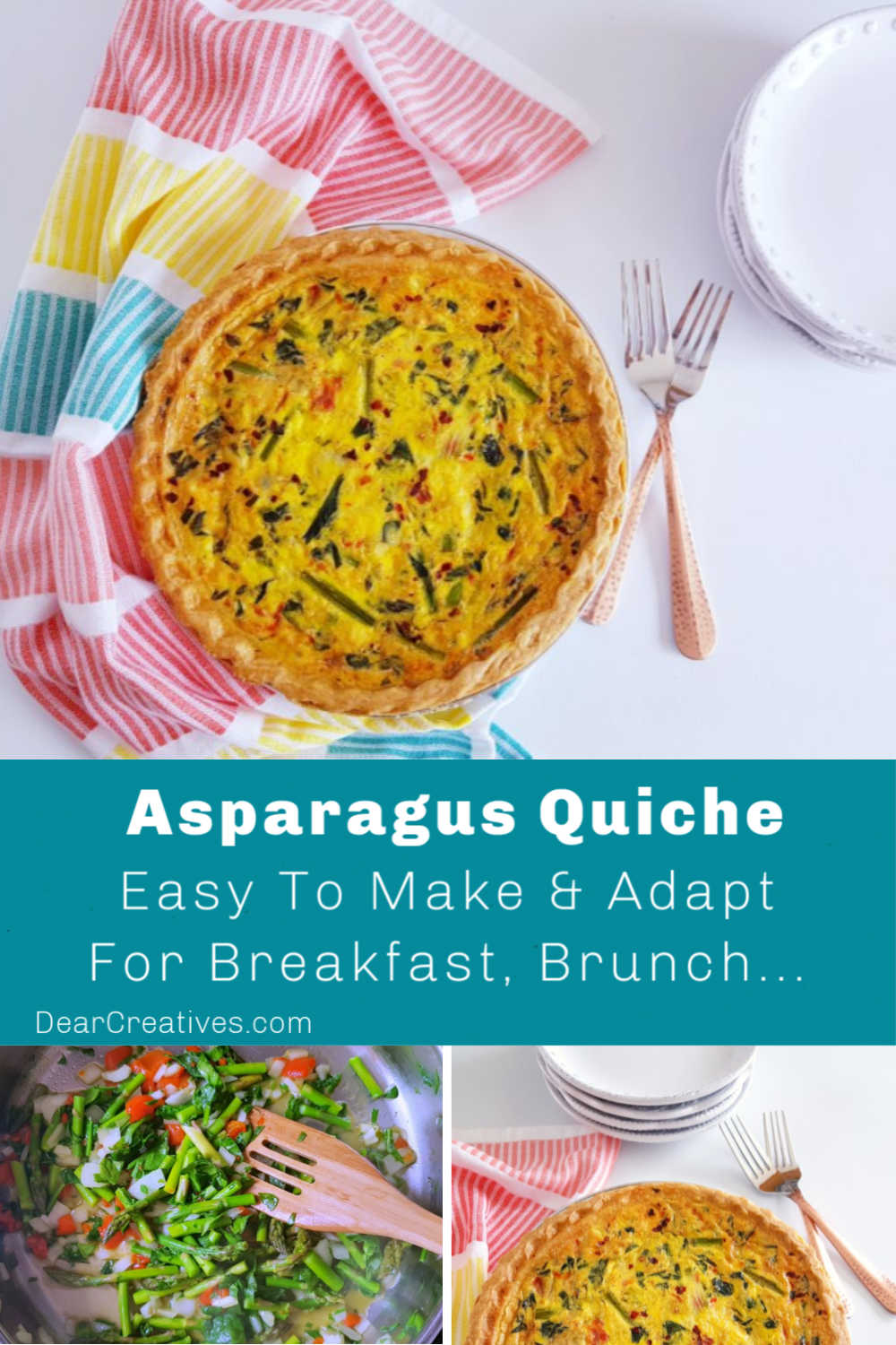 Asparagus Quiche – Perfect For Breakfast, Brunch, Lunch, Dinner…