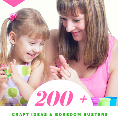 Summer Craft Ideas over 200 ideas for craft ideas to make with the kids, and without the kids. Grab these craft ideas for summer along with other must try crafts at DearCreatives.com #crafts #summer #kids #teens #tweens #adults #summercraftideas
