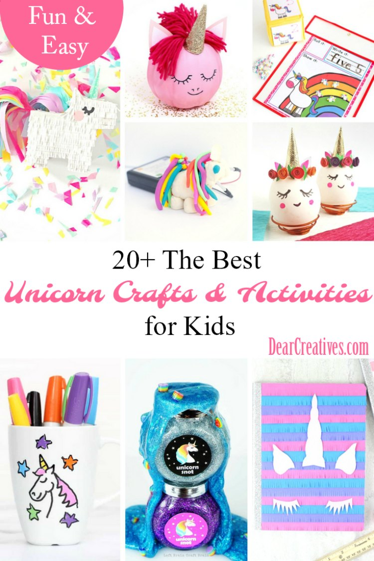 Fun, and Easy Unicorn Crafts and Activities To Make