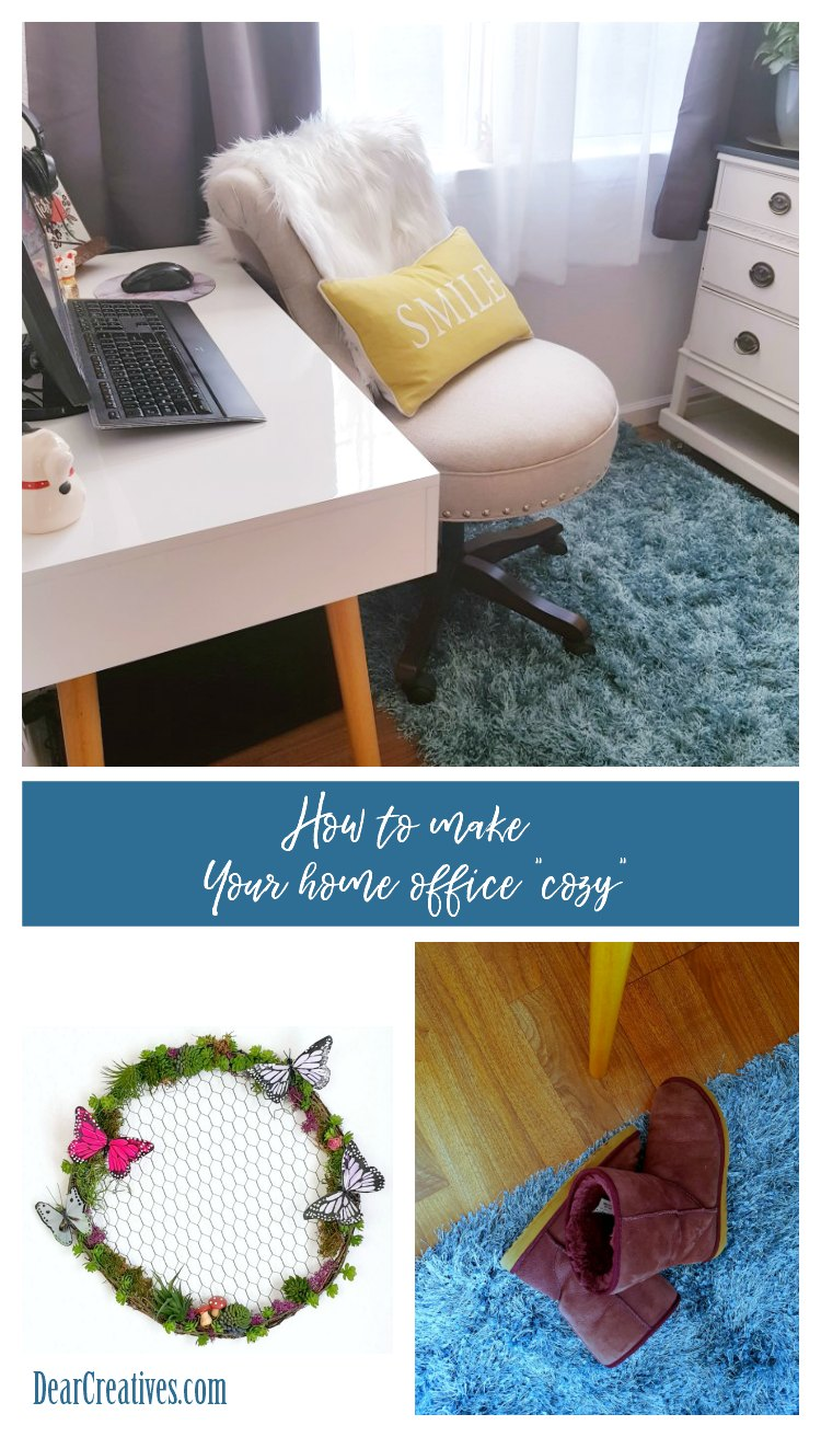 5 Easy Ways To Make Your Office Work Space More Cozy